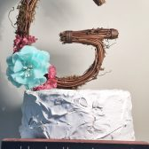 Letter G Cake Toppers