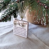 Irish Blessing Wedding Favor Ornament