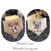 Baseball themed, Home Plate shaped ring pillow in black and white