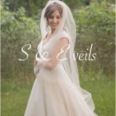Simply elegant Cathedral length veil