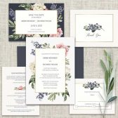 2018 Floral Wedding Invitation