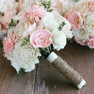 ADVICE  Do your wedding bouquets have to be real?hellip