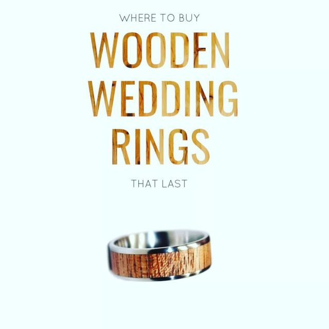 Wooden wedding rings are awesome Find out where to gethellip