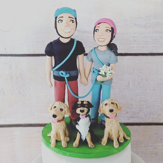 CAKE TOPPERS WITH DOGS  These handpicked toppers include yourhellip