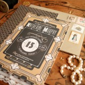 Great Gatsby Bridal Shower Invitations