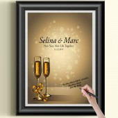 Wedding Guest Book Poster, Wedding Sign, Wedding Poster, Wedding Gift, Guest Book Alternative