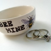 Bee Mine Floating Wedding Candle Holder