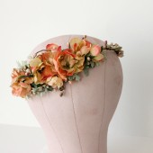 Citrus Floral Headpiece