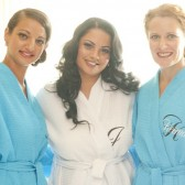 Personalized Layered Initial and Name Spa Robe