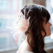 Geneva Feather Fascinator