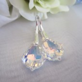 Aurora Borealis Swarovski Bridal Earrings