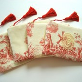 Monogram Toile Cosmetic Bags