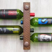4 Bottle High Capacity Wine Rack