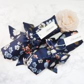 Bridesmaids, robes, floral, bridal, kimono, wedding, satin, brides, blue, getting ready
