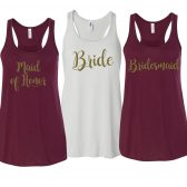 Bridesmaid Tanktops