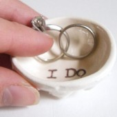 i do wedding ring pillow