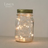 20 LEDS 6Ft Fairy Lights - Ultra Thin Wire - Button Battery Powered, Pack of 3