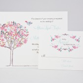 Cottage Chic Wedding Invitation