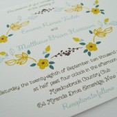 Cottage Chic Wedding Invitations