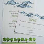 Nature Wedding Invitations
