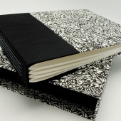 6x9 Wedding Album with Matching Slipcase - Design Your Own