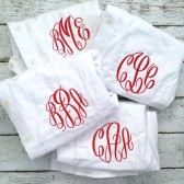 Monogrammed Button Down Oxford Bridesmaid Shirts