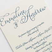 Script Wedding Invitations