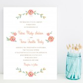 Lovely Wedding Invitation