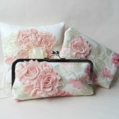Bridal Clutch blush pink