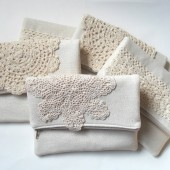 Shabby Chic Clutch