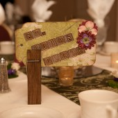 Custom Table Names - Travel Themed Wedding