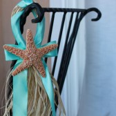 Starfish Aisle Decor