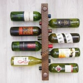 8 Bottle High Capacity Wine Rack