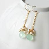 Seafoam Drop Earrings
