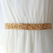 Gold Deco Sash