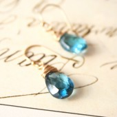 London Blue Topaz Drops