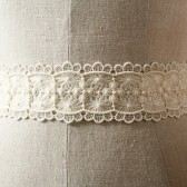 Scalloped Lace Sash
