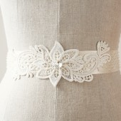 Flower and Vine Sash