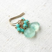 Pastel Green Earrings