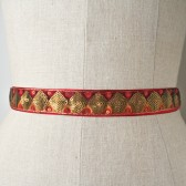Red and Gold Sash
