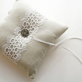 Paris Ring Pillow