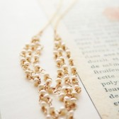 Lacy Pearl Necklace