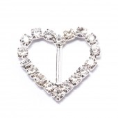 ALL HEART RHINESTONE SLIDER BUCKLE 105
