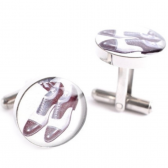 SADDLE SHOES CUFFLINKS SADDLE SHOES CUFFLINKS