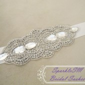 Abbey Bridal Sash