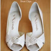 Grace Crystal Shoe Clips