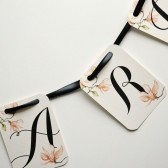 Adriana Floral Card & Gift Table Banner Sign