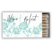 Alexis – Modern Floral Matchboxes