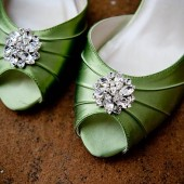 Amanda Crystal Shoe Clips