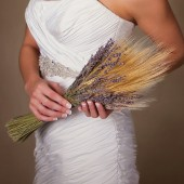 Anne - Beautiful dried natural Lavender and Wheat Bouquet